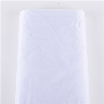 White Premium Organza Fabric 60x10 Yards