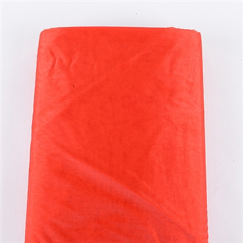 Red Premium Organza Fabric 60x10 Yards
