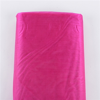 Fuchsia Premium Organza Fabric 60x10 Yards