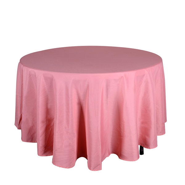 Coral 132 Inch Round Tablecloths