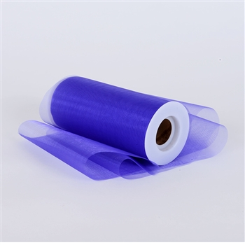 Purple Premium Organza Fabric Spool 6x25 Yards