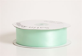 1/4 Inch Mint Satin Ribbon