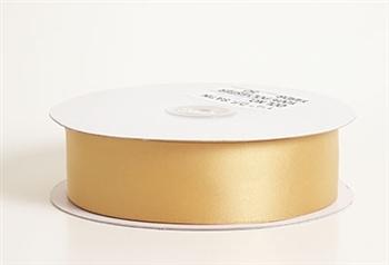 1/4 Inch Antique Gold Satin Ribbon