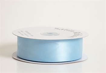 3/8 Inch Light Blue Satin Ribbon