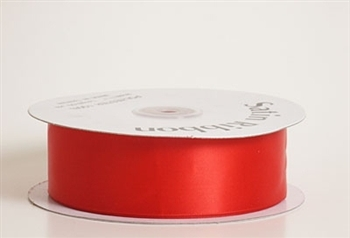 3/8 Inch Red Satin Ribbon