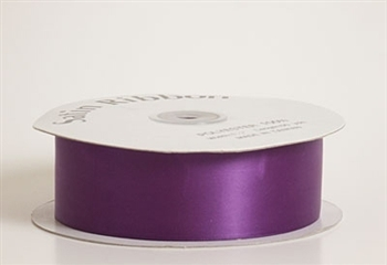 3/8 Inch Purple Satin Ribbon