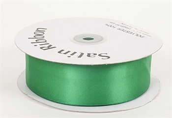 3/8 Inch Emerald Satin Ribbon