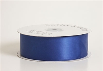 2 Inch Royal Blue Satin Ribbon
