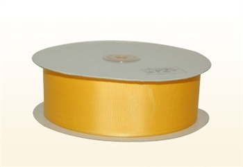 1/4 Inch Light Gold Grosgrain Ribbon