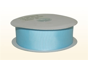 7/8 Inch Light Blue Grosgrain Ribbon
