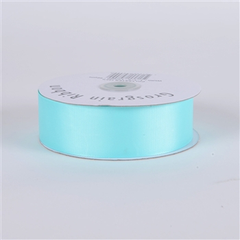 1-1/2 Inch Aqua Blue Grosgrain Ribbon