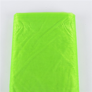 Apple Green Organza Fabric