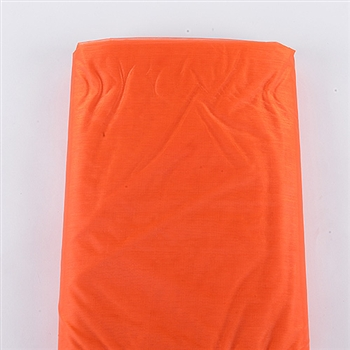 Orange Organza Fabric