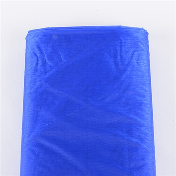 Royal Blue Organza Fabric