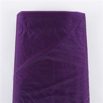 Eggplant Organza Fabric