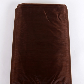 Brown Organza Fabric