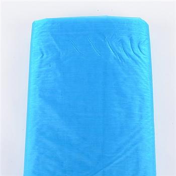 Turquoise Organza Fabric
