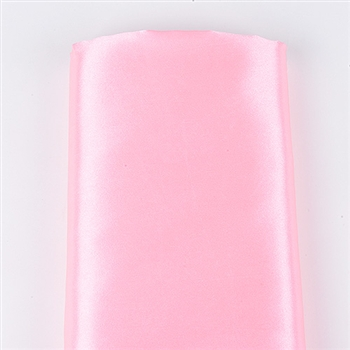 Light Pink Satin Fabric