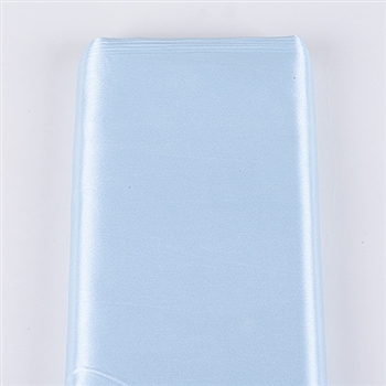 Light Blue Satin Fabric