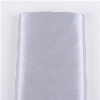 Silver Satin Fabric