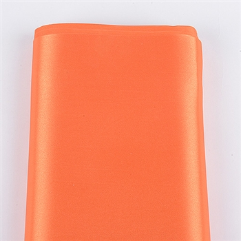 Orange Satin Fabric