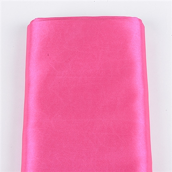 Hot Pink Satin Fabric
