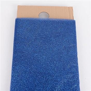 54 Inch Navy Blue Glitter Tulle Bolt