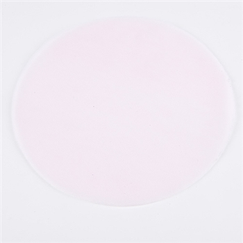 Light Pink Pre Cut 12 Inch Premium Tulle Circles 25 Pieces