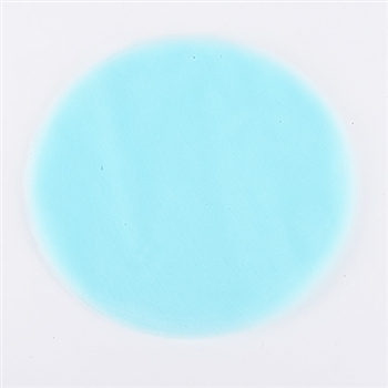 Light Blue Pre Cut 12 Inch Premium Tulle Circles 25 Pieces