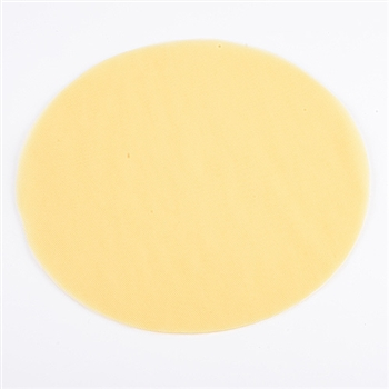 Yellow Pre Cut 12 Inch Premium Tulle Circles 25 Pieces