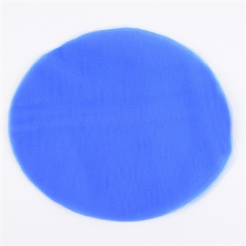 Royal Blue Pre Cut 12 Inch Premium Tulle Circles 25 Pieces