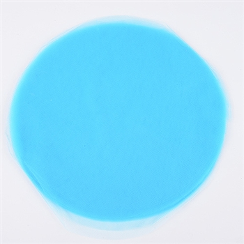 Turquoise Pre Cut 12 Inch Premium Tulle Circles 25 Pieces