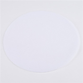 White Pre Cut 9 Inch Premium Tulle Circles 25 Pieces