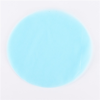 Light Blue Pre Cut 9 Inch Premium Tulle Circles 25 Pieces