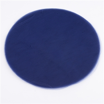 Navy Blue Pre Cut 9 Inch Premium Tulle Circles 25 Pieces