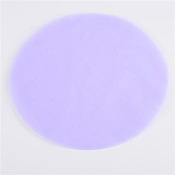 Lavender Pre Cut 9 Inch Premium Tulle Circles 25 Pieces