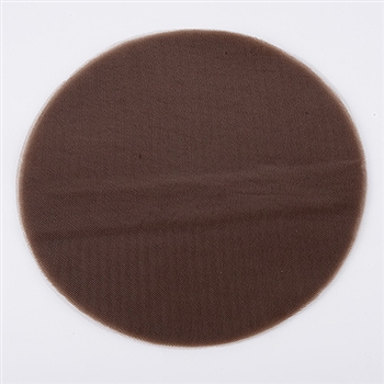 Chocolate Brown Pre Cut 9 Inch Premium Tulle Circles 25 Pieces