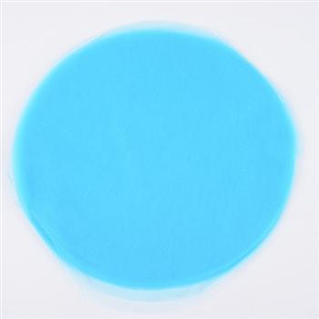 Turquoise Pre Cut 9 Inch Premium Tulle Circles 25 Pieces