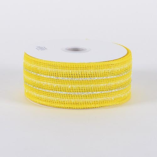 Daffodil Laser Metallic Mesh Ribbon
