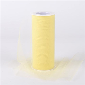 Baby Maize 12 Inch Tulle Roll 25 Yards