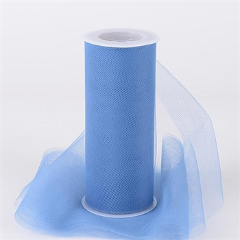 Periwinkle 12 Inch Tulle Roll 25 Yards