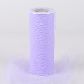 Lavender 12 Inch Tulle Roll 25 Yards