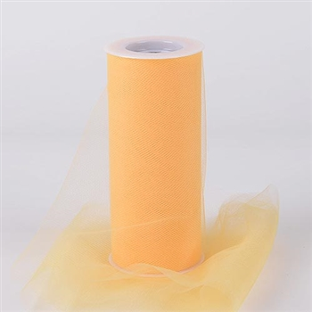 Light Gold 12 Inch Tulle Roll 25 Yards