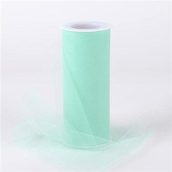 Mint 18 Inch Tulle Roll 25 Yards