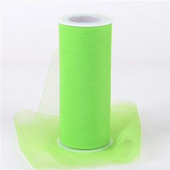 Apple Green 18 Inch Tulle Roll 25 Yards