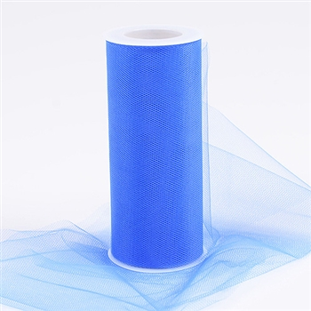 Royal Blue 18 Inch Tulle Roll 25 Yards
