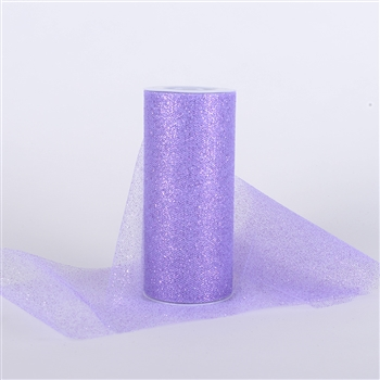 Lavender Glitter Tulle 6x25 Yards