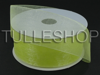 1-1/2 Inch Baby Maize Organza Ribbon