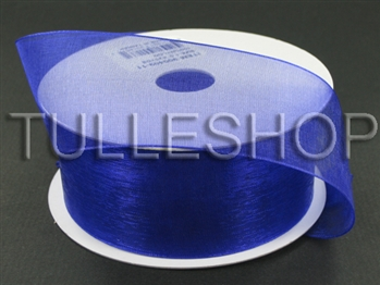 1-1/2 Inch Purple Haze Organza Ribbon