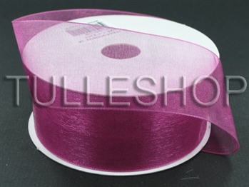 1-1/2 Inch Colonial Rose Organza Ribbon